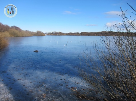 Danau-danau membeku padahal seharusnya mulai masuk musim semi