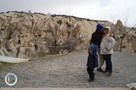 Baby traveller digembol ke Cappadocia