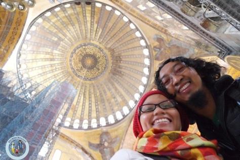 Bersama kubah Hagia Sophia yang fenomenal itu