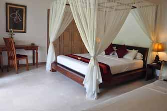 Kamar tidur yang romantis