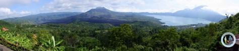 Gunung Batur dan Danau Batur, panorama indah di Pulau Dewata