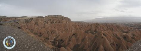 Foto panorama di salah satu sudut Cappadocia, langsung dari kamera Samsung NX Mini, tanpa edit, hanya sebatas resize