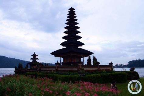 Pura Ulun Danu Bratan di kawasan Bedugul, salah satu pura paling cantik di Pulau Bali