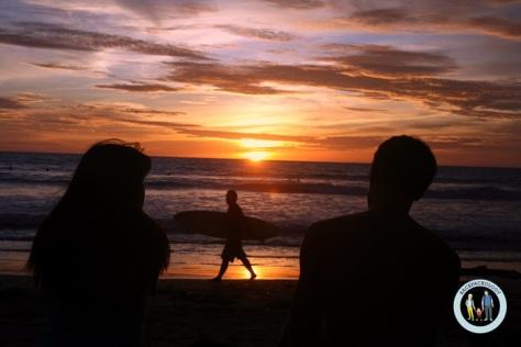 Pantai Kuta, tujuan wisata nomer satu di Pulau Bali, tempat favorit penginapan murah bagi kaum backpacker