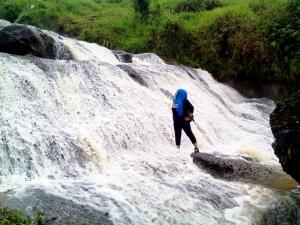 Curug Kedung Kandang saat musim hujan