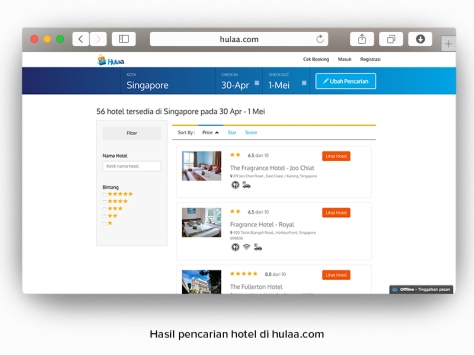 Ada banyak pilihan hotel di Asia Pasifik