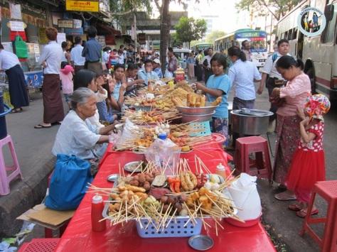 Kelaparan di Yangon