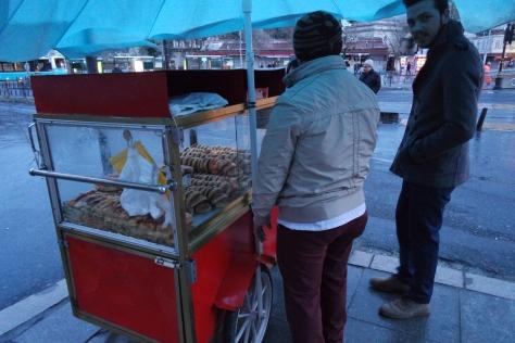 Simit, roti khas Turki