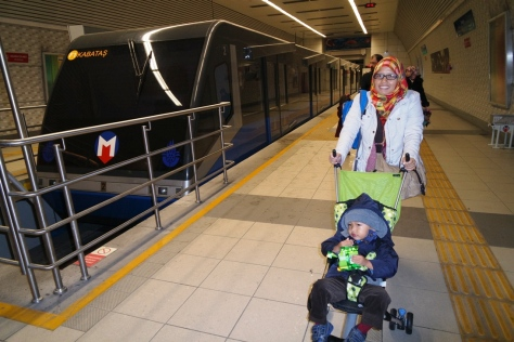 Kereta funicular Kabatas-Taksim