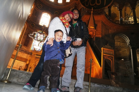 Finally Hagia Sophia!