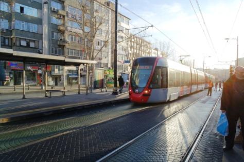 Trem T1 Kabatas-Bagcilar andalan sejuta umat