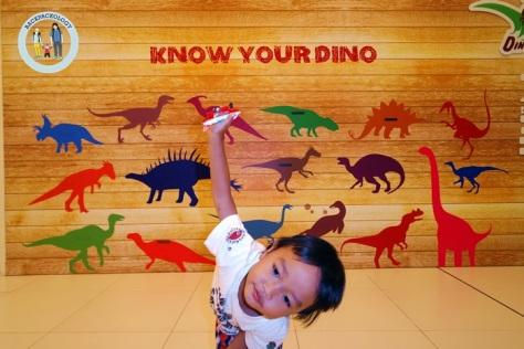 Bermacam-macam dino bisa Anda jumpai di Discoveria, Avenue K, Kuala Lumpur