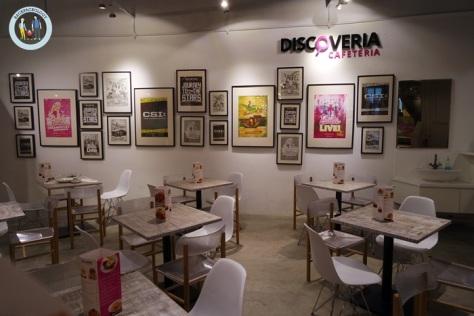 Setelah lelah berpetualang, Anda bisa menikmati hidangan lezat di Discoveria Cafetaria, Avenue K, Kuala Lumpur