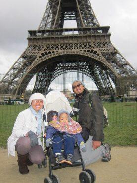 Menggigil di Paris