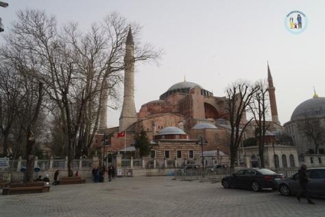 The magnificent Hagia Sophia
