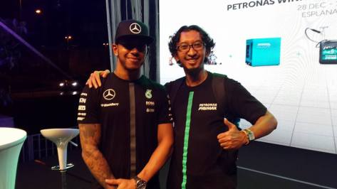 Meet and Greet with Lewis Hamilton, 2015 Formula One World Champion