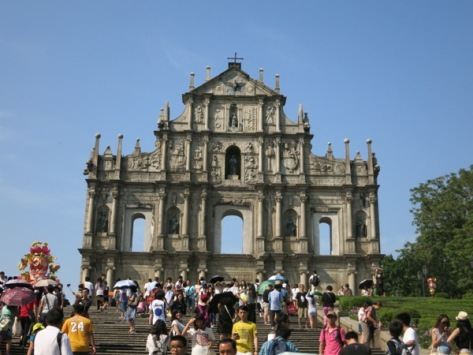 Ruins of St Paul's