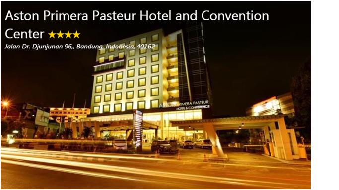 Aston Primera Pasteur Hotel Strategis Di Bandung