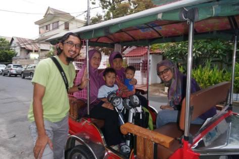 Tuk tuk di Phnom Penh