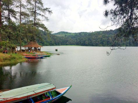 Perahu-perahu Situ Patenggang