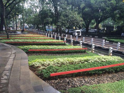 Cantiknya taman-taman kota Bandung