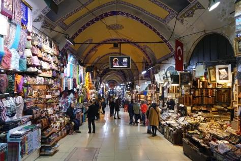Grand Bazaar, pasar yang tidak seperti pasar saking mewahnya