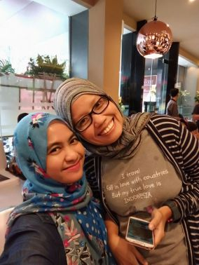 Sama Ima alias Manda, blogger Jogja pakar warung